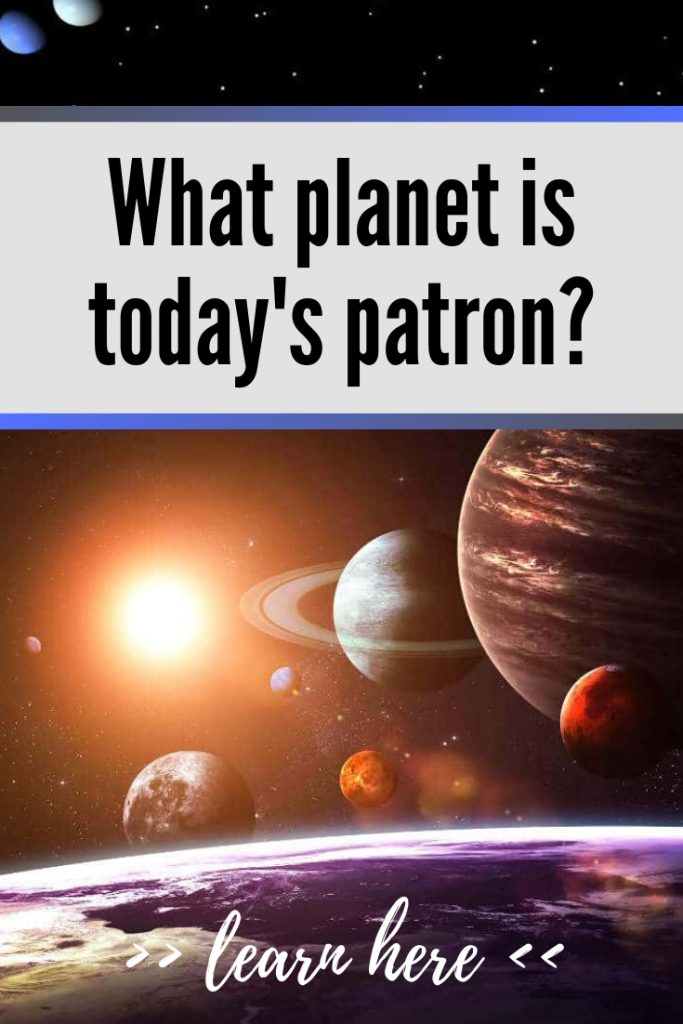 planet of the day