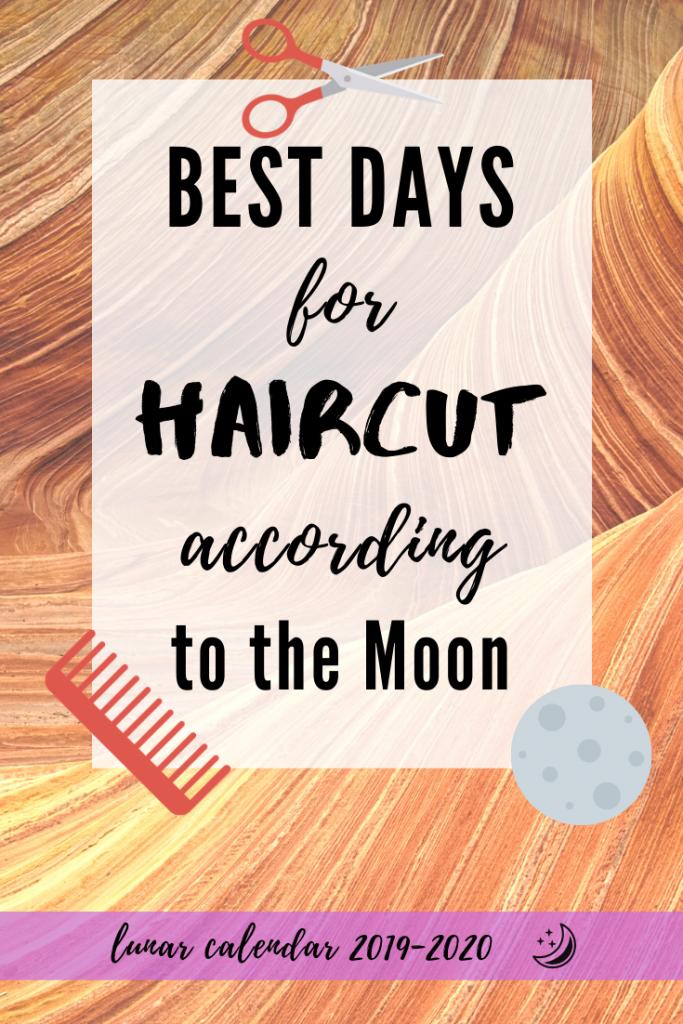 haircuts lunar calendar