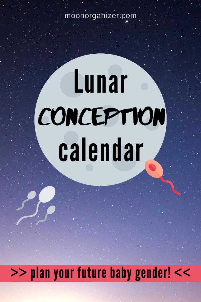 lunar conception calendar