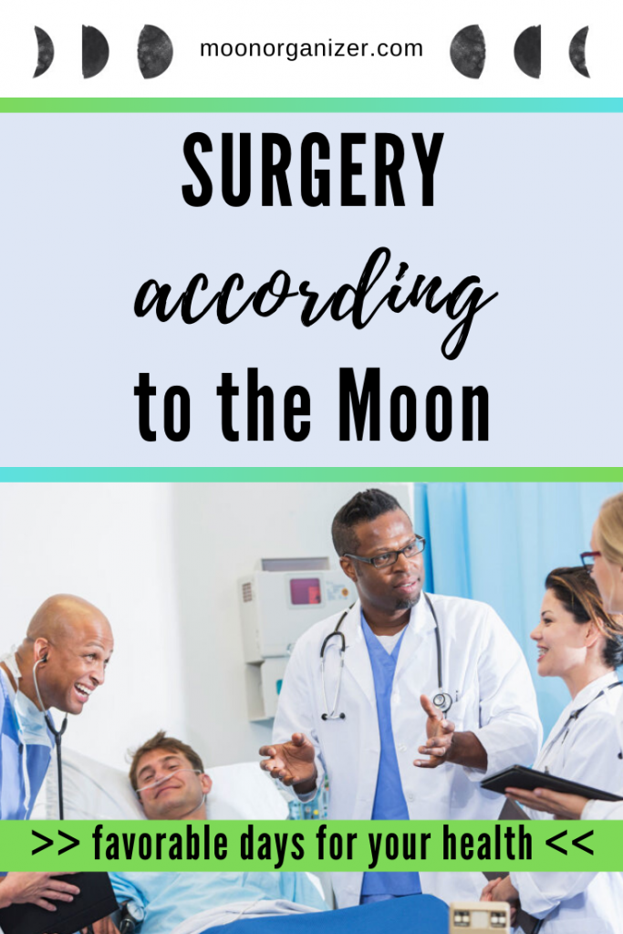 surgery according to the moon