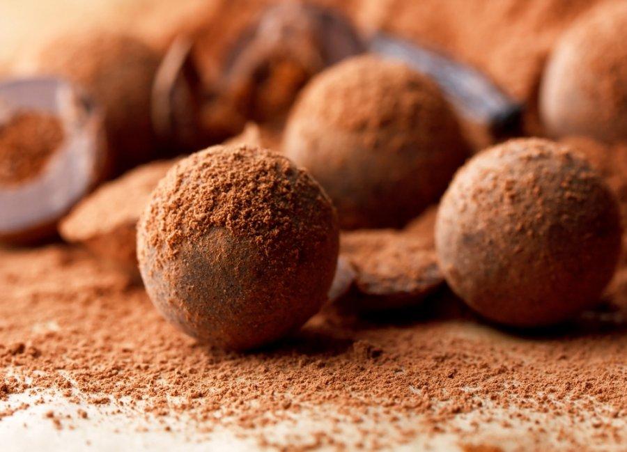 веганские шоколадные конфеты