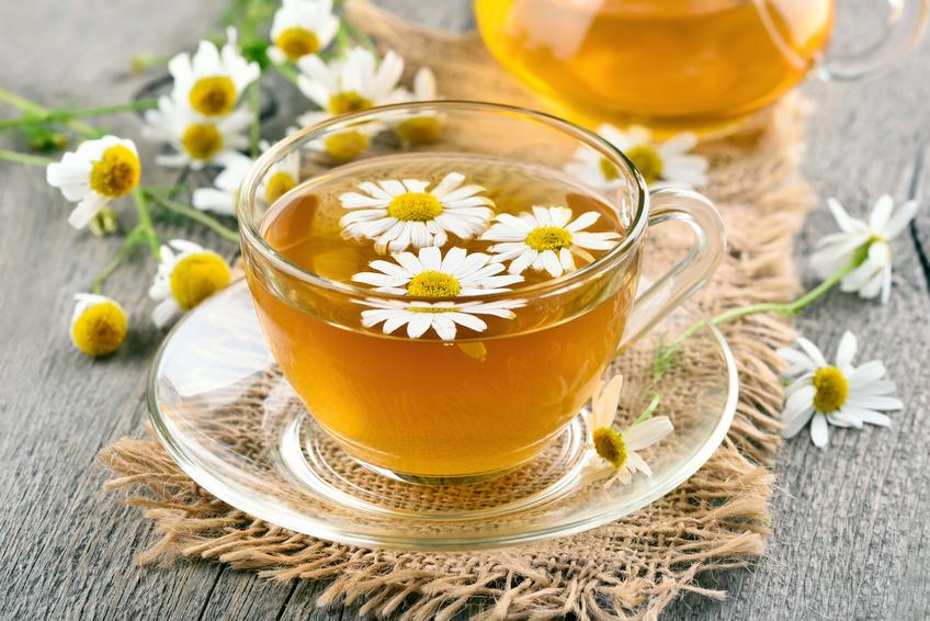 седативный чай с ромашкой