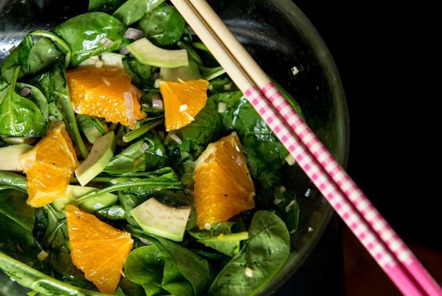 азиатский диетический салат
