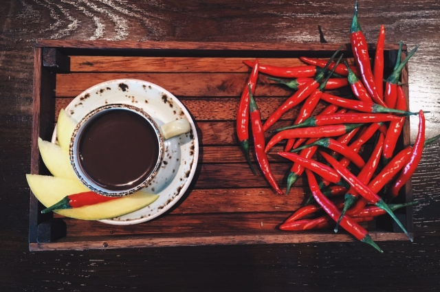 горячий шоколад с перцем