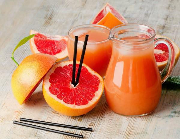 грейпфрутовый смузи