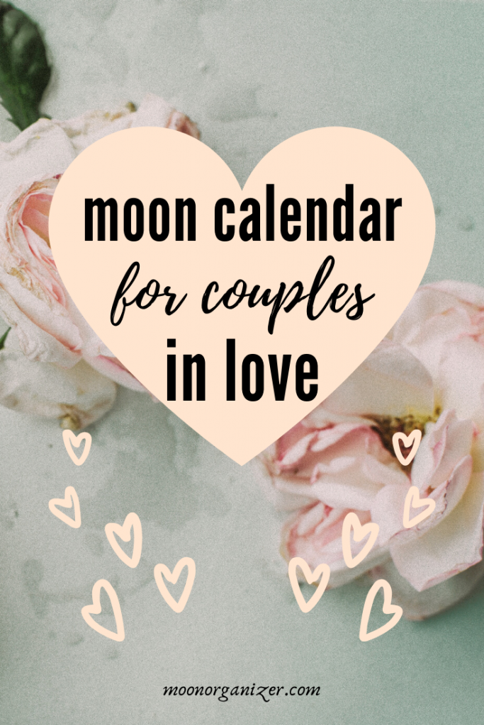 lunar calendar for lovers