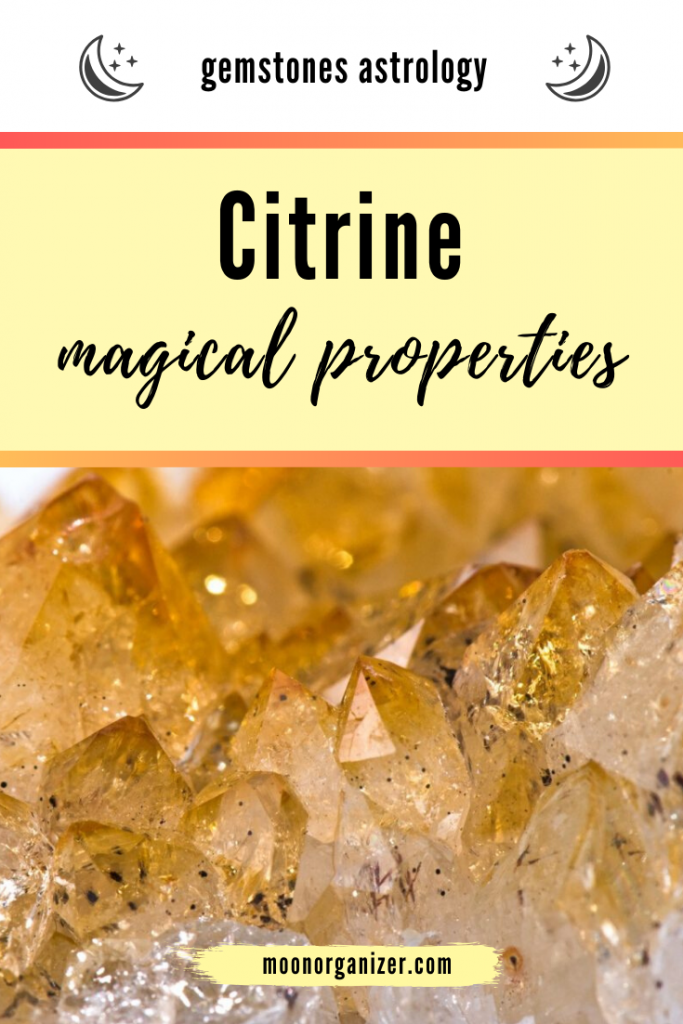 citrine magical properties