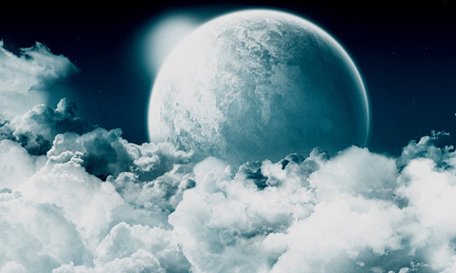 белая луна1