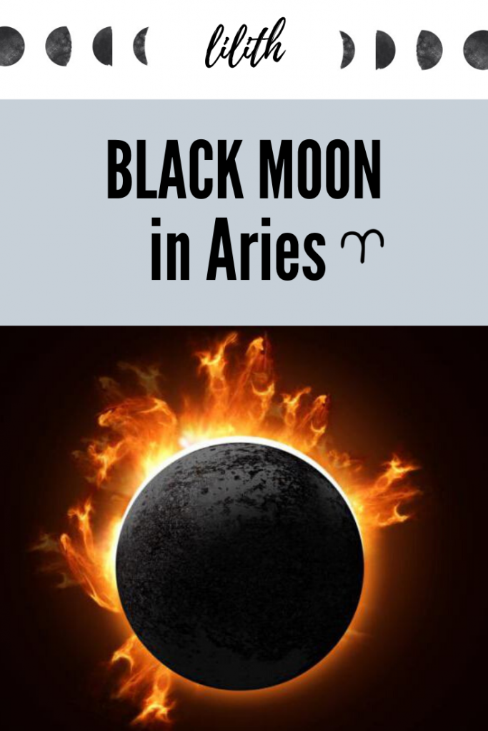 black moon in aries
