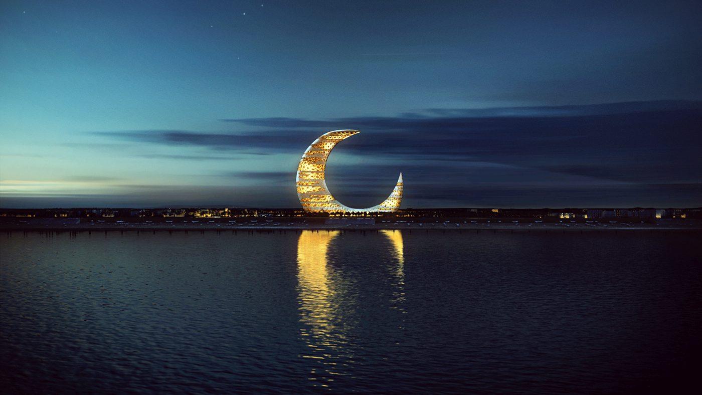 crescent moon phase
