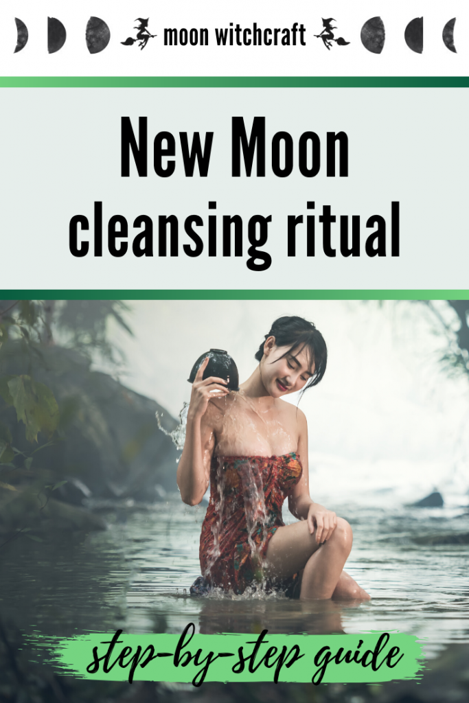 new moon cleansing ritual