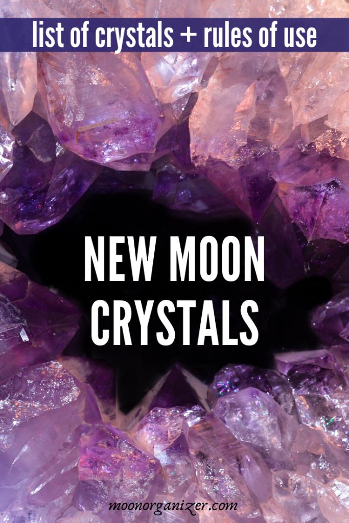 new moon crystals