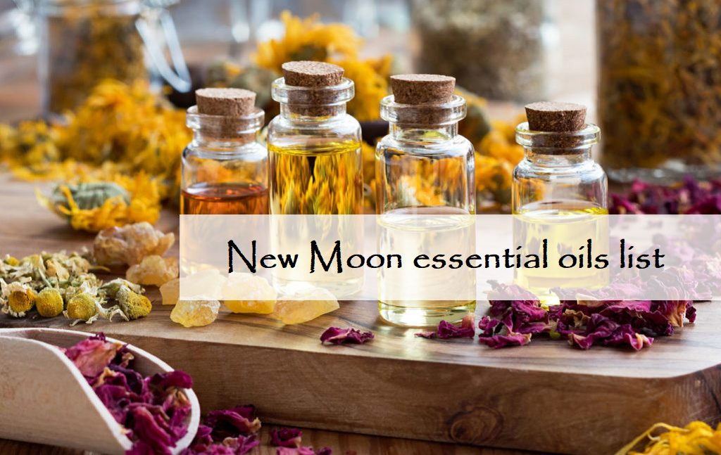new moon essential oils