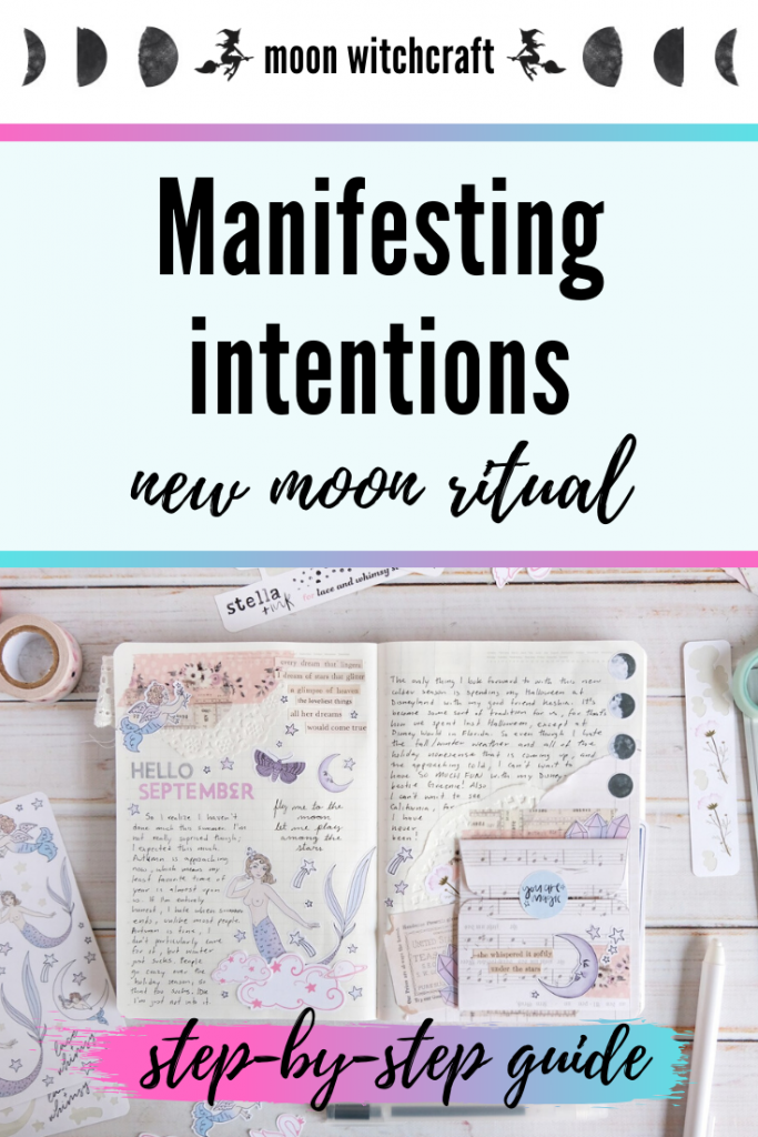 new moon manifesting intentions ritual