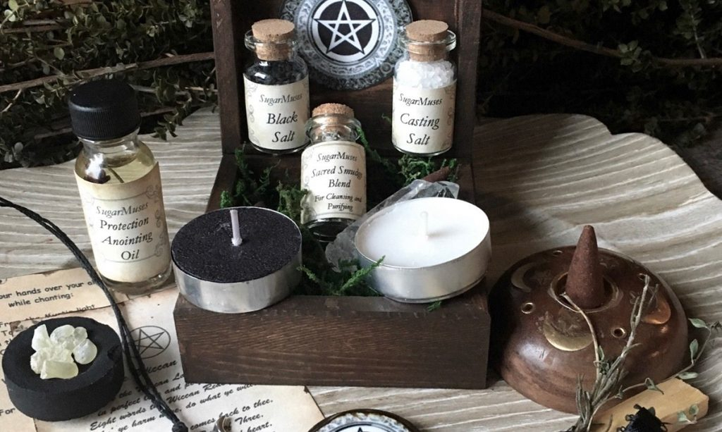 items for a new moon cleansing ritual