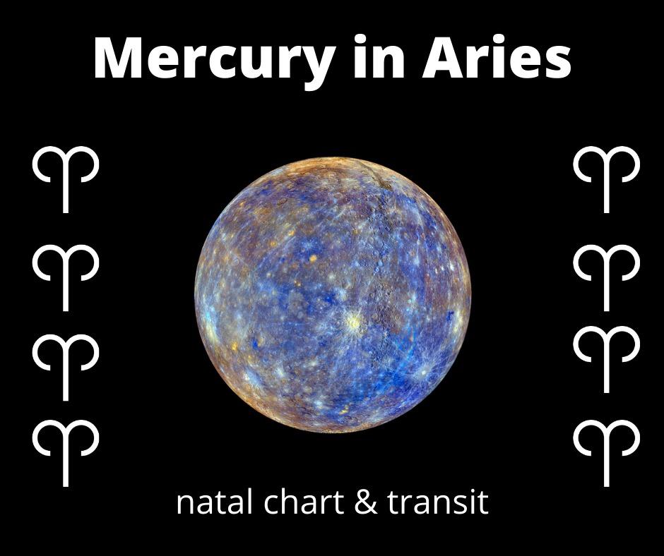 Mercury in Aries transit