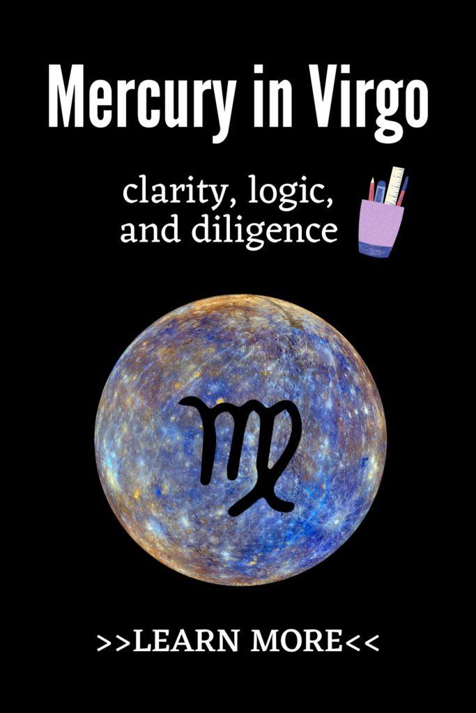 Mercury in Virgo