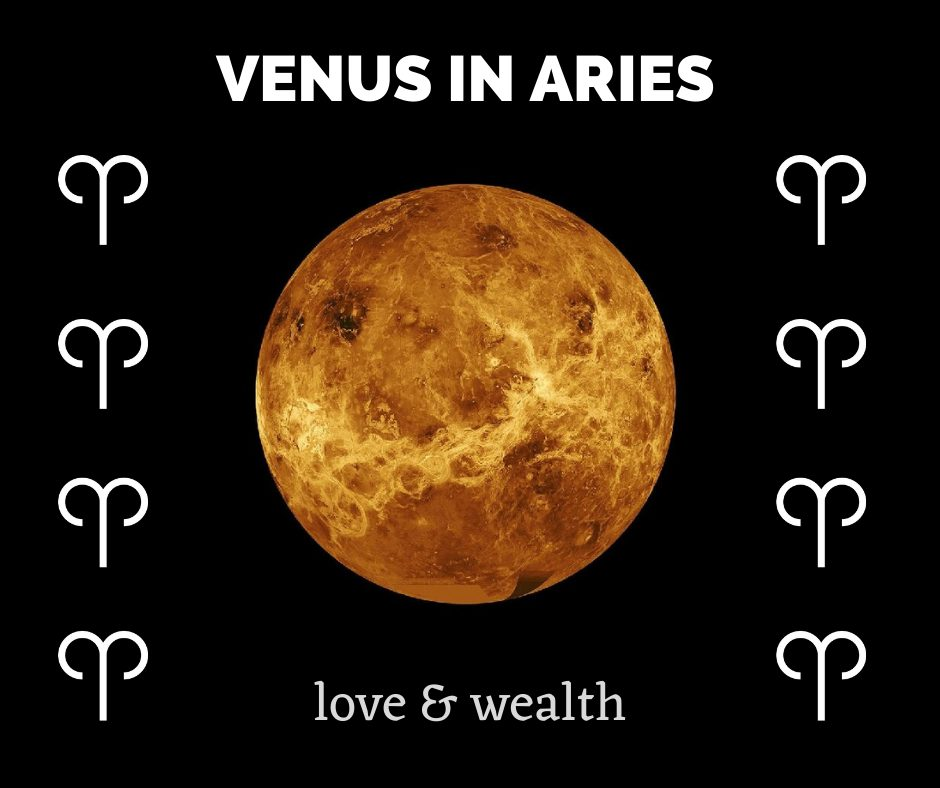 Aries effect on venus