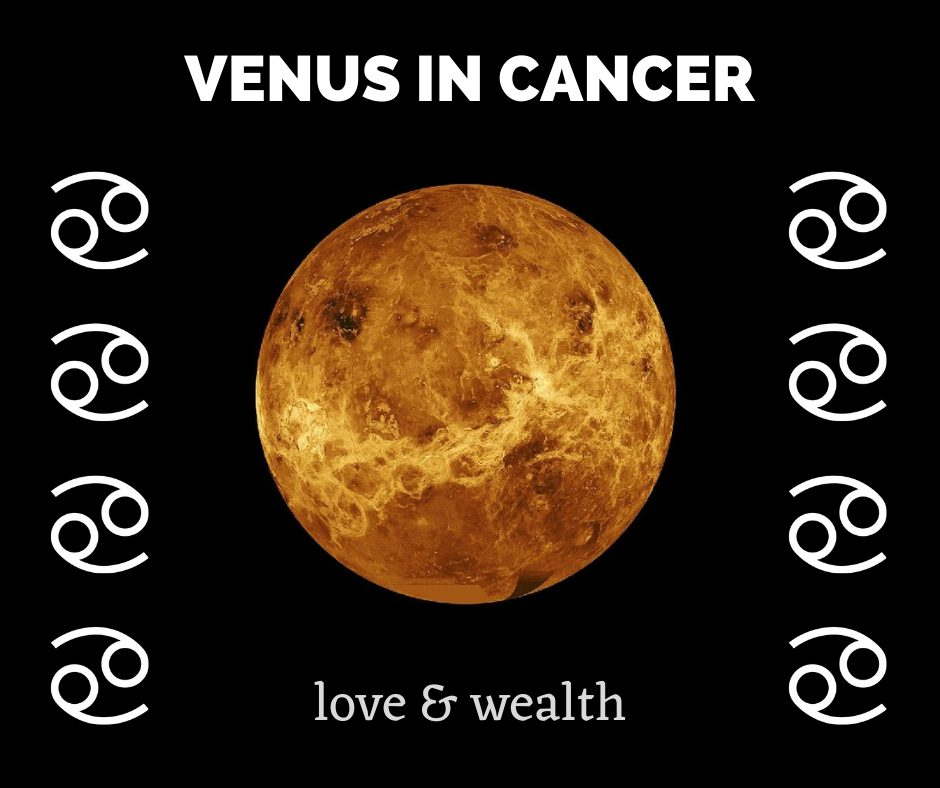 Cancer effect on Venus