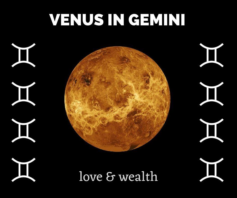 Gemini effect on Venus