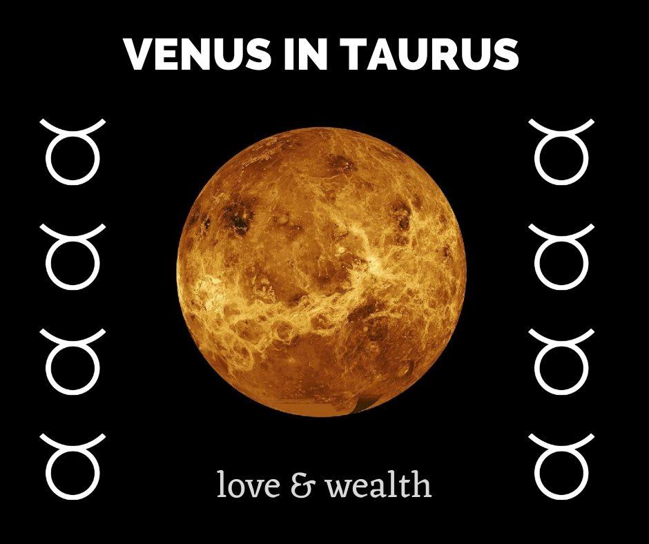 Taurus effect on Venus