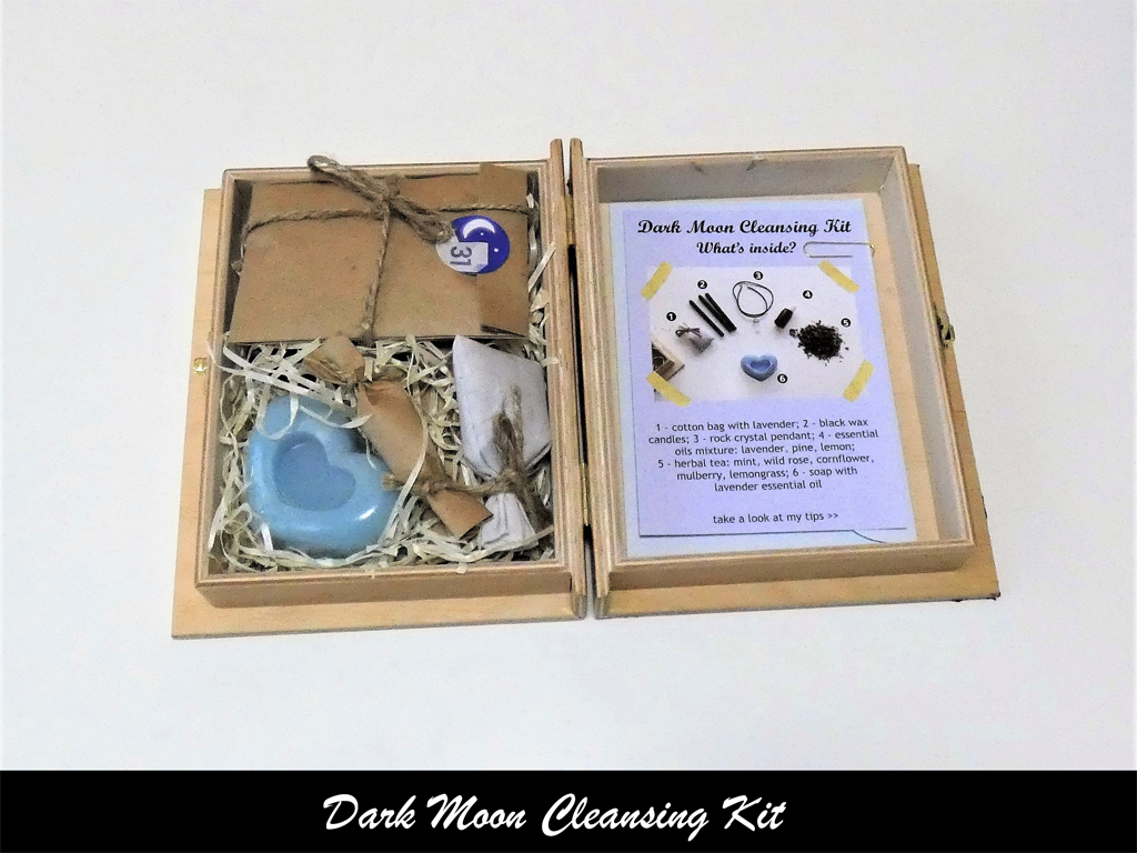 witch kit for cleansing