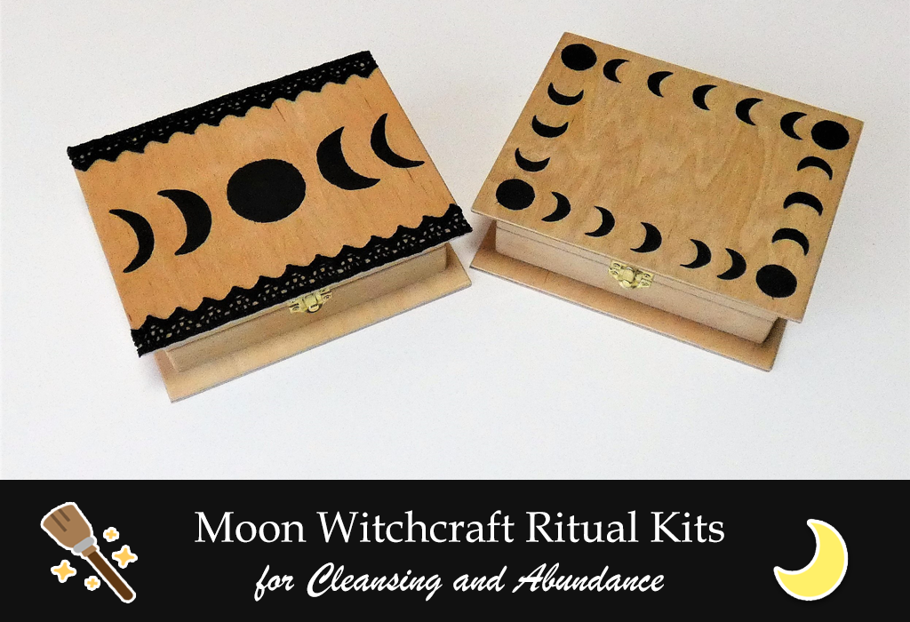 moon witchcraft ritual kits