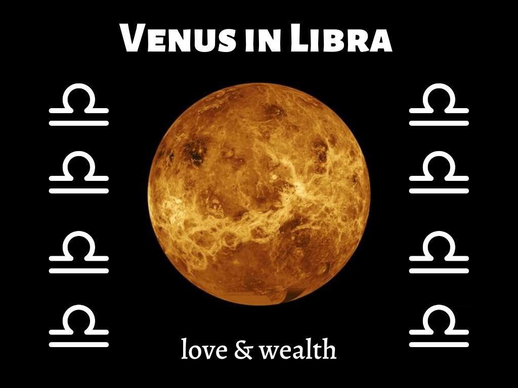 Libra effect on Venus
