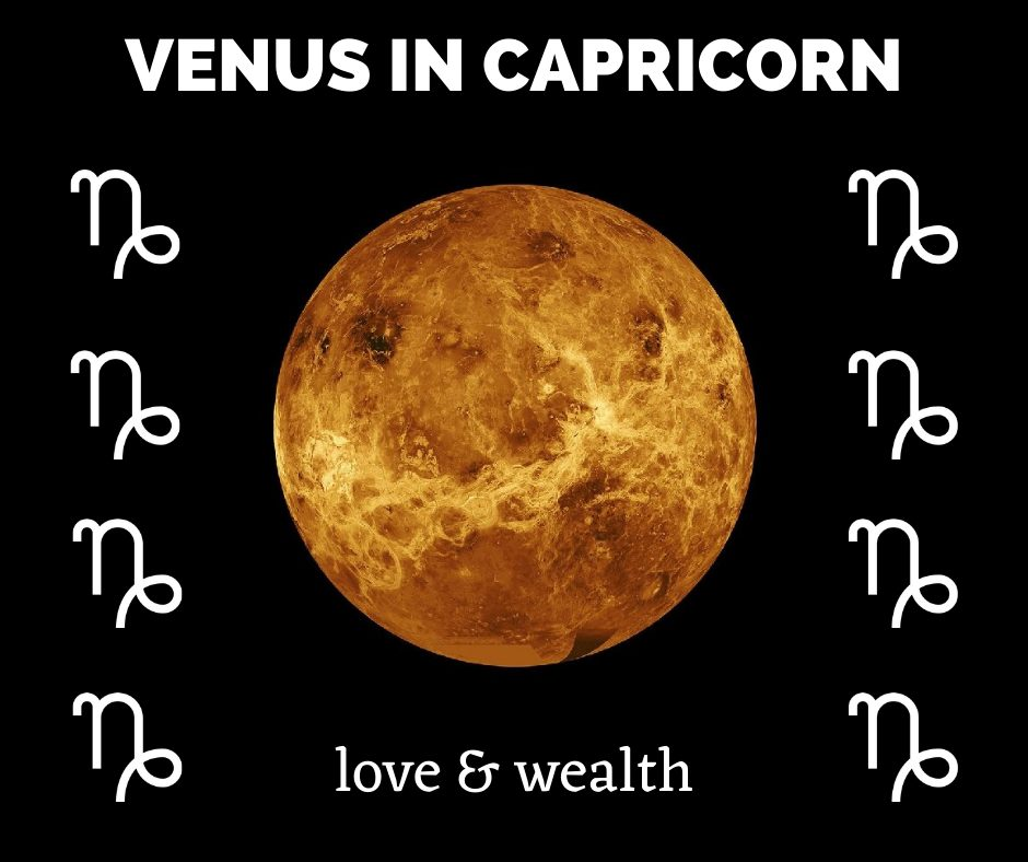 Capricorn effect on venus