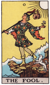 The Fool Major Arcana meaning