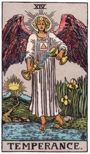Temperance Major Arcana meaning