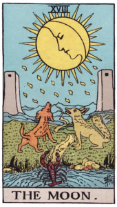 The Moon Major Arcana meaning