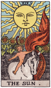 The Sun Major Arcana meaning