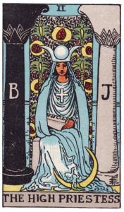 The High Priestess Major Arcana meaning