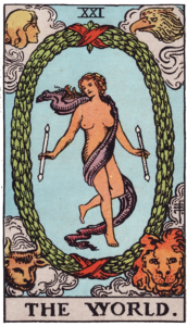 The World Major Arcana meaning
