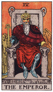 The Emperor Major Arcana meaning
