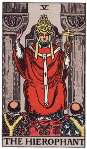 The Hierophant Major Arcana meaning