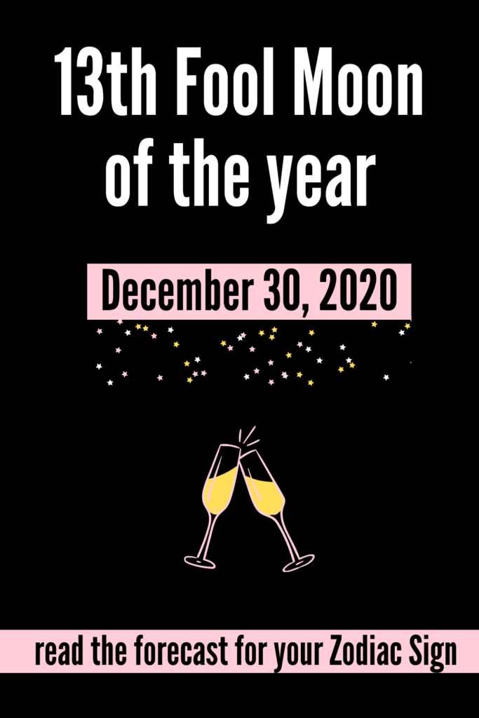 Full Moon December 30 2020
