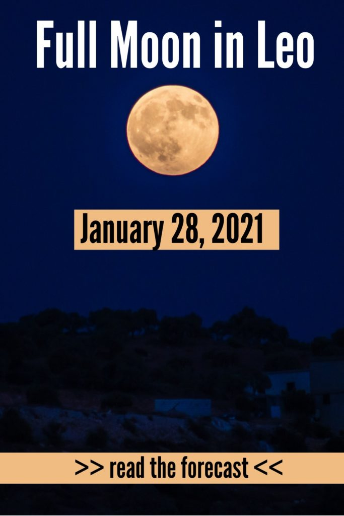 Full Moon January 28 2021