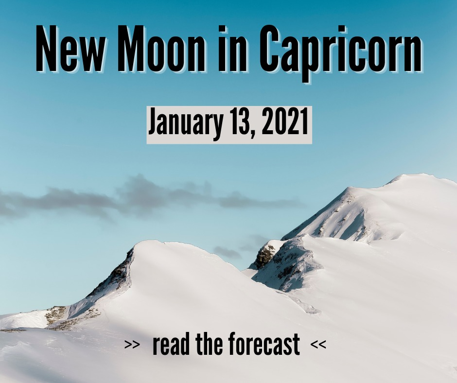 New Moon in Capricorn
