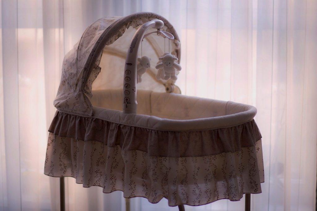 A Crib or Bassinet