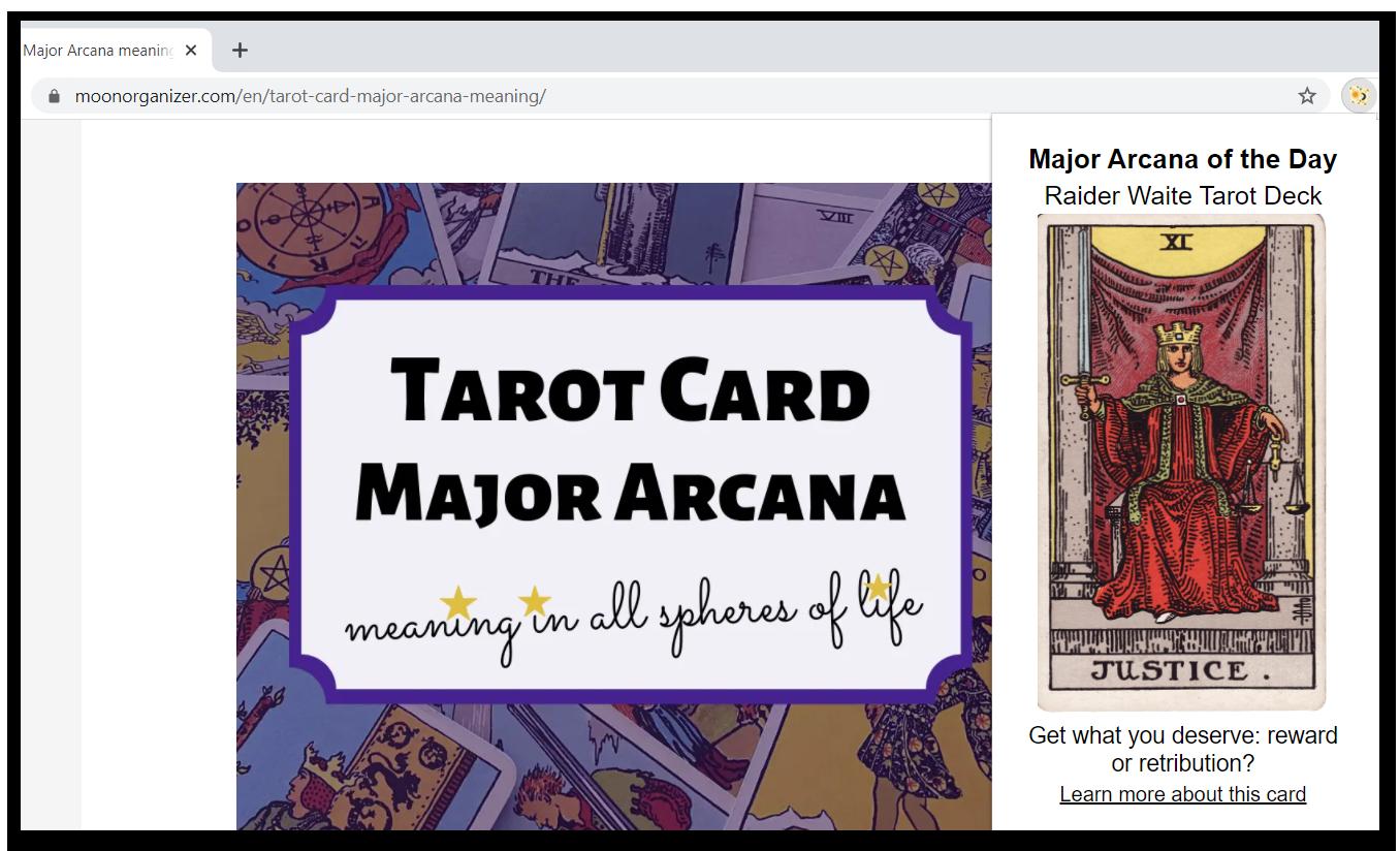 Tarot Arcana Extension